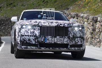 Van dichtbij: nieuwe Rolls-Royce Ghost