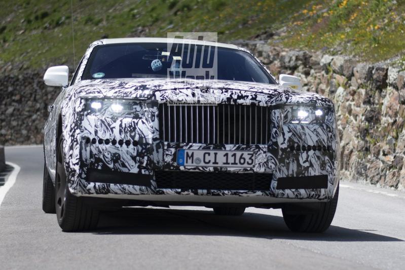 Rolls-Royce Ghost spionage