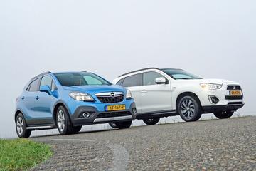 Mitsubishi ASX - Opel Mokka - Occasiondubbeltest