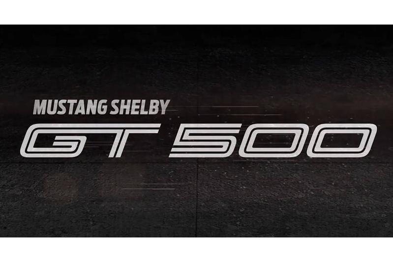 Ford bevestigt Shelby GT500 Mustang voor 2019