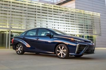 Toyota Mirai behoorlijk in trek