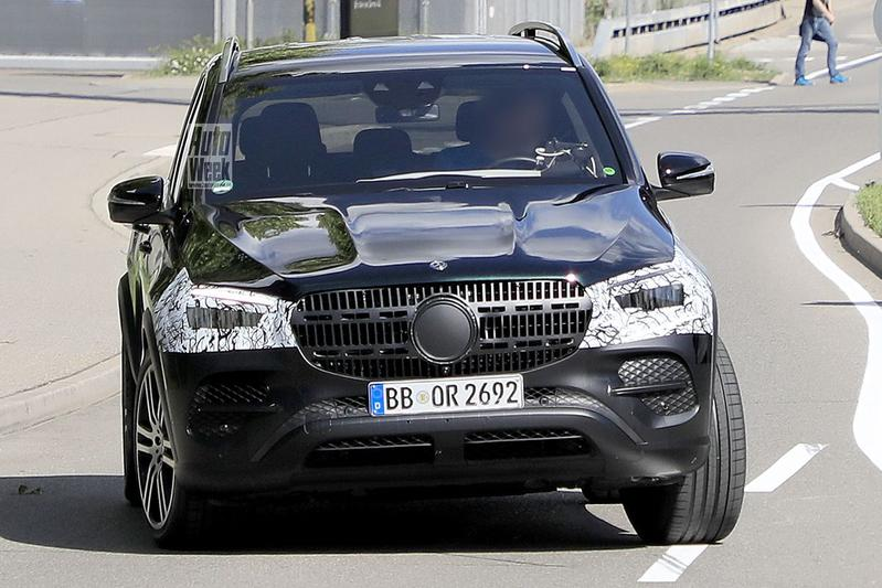Spyshots Mercedes-Benz GLE