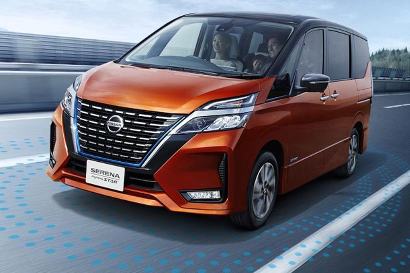 Nissan Serena facelift