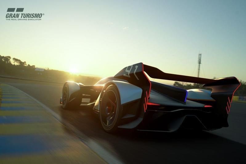 Snelle pixels: McLaren Ultimate Vision GT