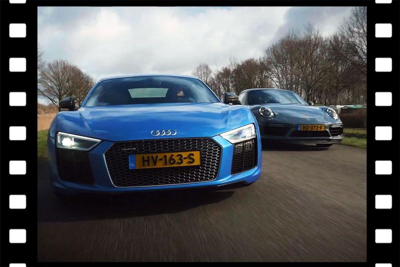 Videoflashback: Audi R8 V10 Plus vs. Porsche 911 Turbo S