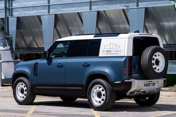 Land Rover Defender Hard Top is nieuwe bestelversie