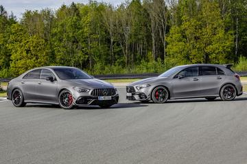 Mercedes-AMG A45 4Matic+ én CLA45 4Matic+ gepresenteerd