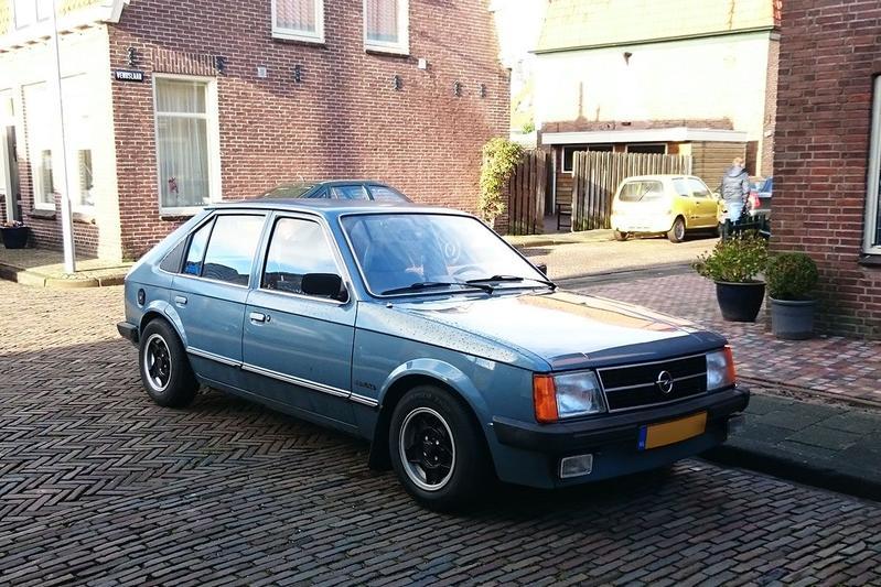 In het wild: Opel Kadett D (1981)