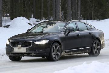 Gefacelifte Volvo S90 en V90 gesnapt