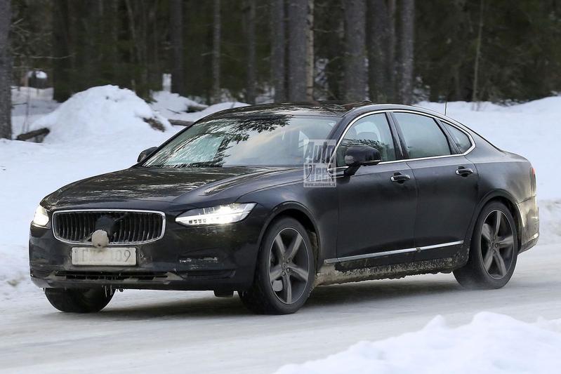 Spyshots facelift Volvo S90, V90 en V90 Cross Country