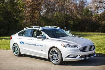 Ford's nieuwste generatie autonome Fusion