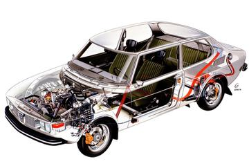 Doorzaag-zaterdag: Saab 99