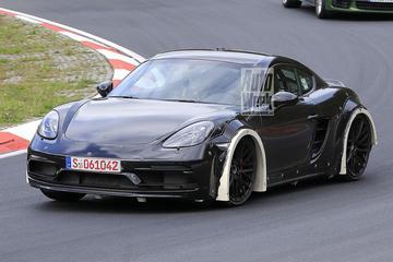 Bijzondere Porsche 718 Cayman op de Ring gesnapt