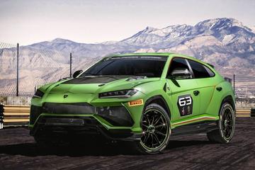 Lamborghini Urus ST-X Concept breekt los