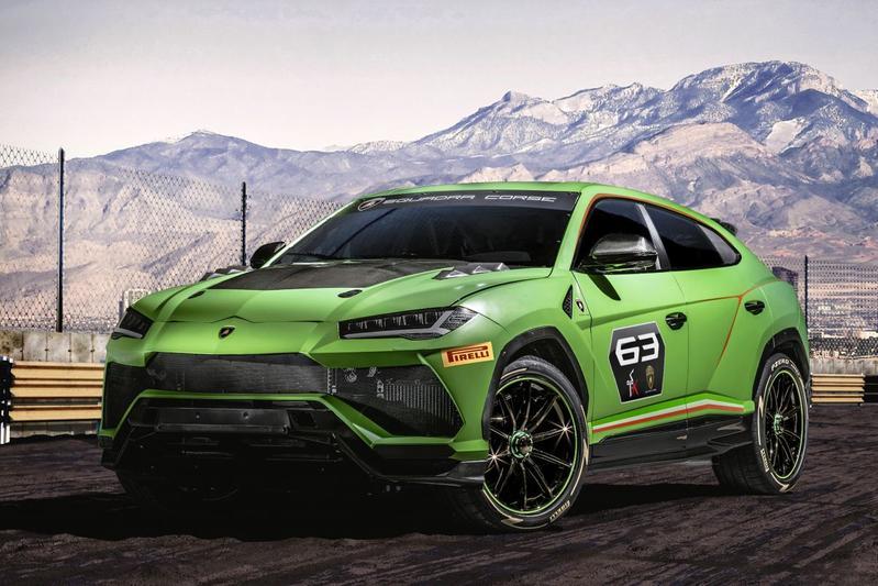 Lamborghini Uris ST-X Concept