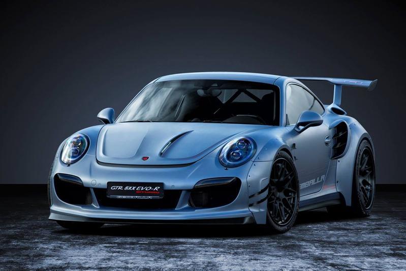 Gemballa GTR 8XX EVO-R Biturbo Porsche 91