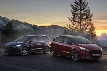 Ford S-Max en Galaxy als Hybrid