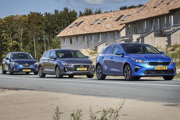 Hyundai i30 - Kia Ceed - Renault Mégane