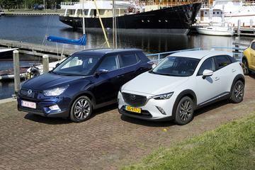 Dubbeltest - Mazda CX-3 vs. Ssangyong Tivoli