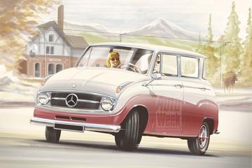 Zijn tijd vooruit: Mercedes-Benz A-klasse