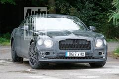 Gesnapt: nieuwe Bentley Flying Spur