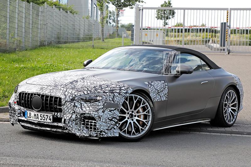 Spyshots Mercedes-Benz SL