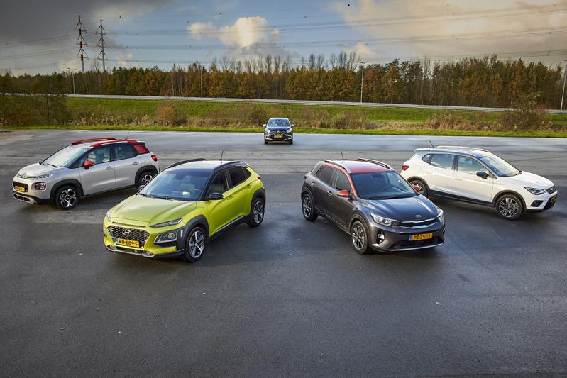 Citroën C3 Aircross - Hyundai Kona - Kia Stonic - Renault Captur - Seat Arona