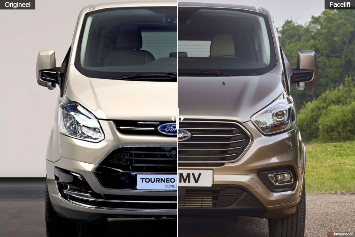 facelift friday ford tourneo custom autonieuws. Black Bedroom Furniture Sets. Home Design Ideas