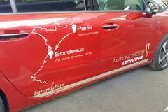 Autonome Citroën C4 Picasso rijdt 580 km Autoroute