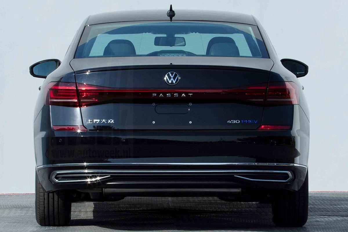 Volkswagen Passat China Plug-in facelift