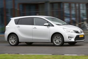 Doek valt voor Toyota Verso