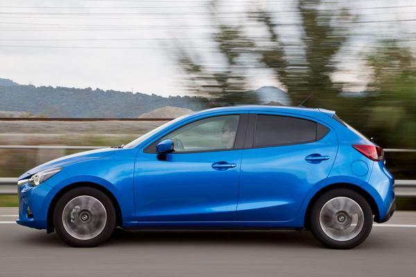 Mazda 2 niet meer met dieselmotor leverbaar