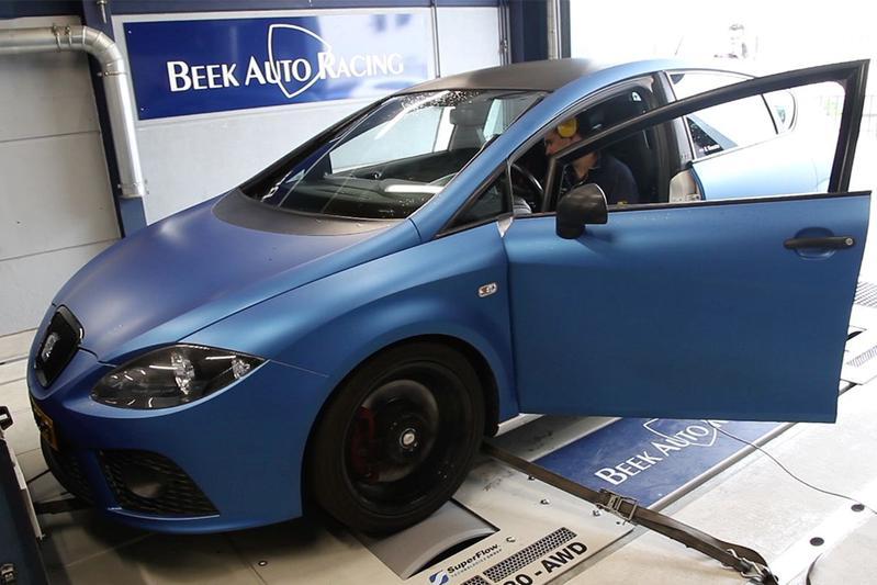 Seat Leon Cupra 310 - Op de Rollenbank