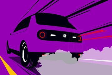 Honda E als elektrisch sprintkanon