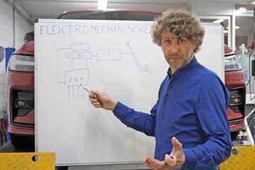 Elektrische rembekrachtiging - Cornelis schetst