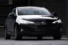 Gefacelifte Hyundai Elantra opgedoken