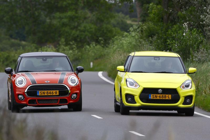 Mini Cooper - Suzuki Swift Sport