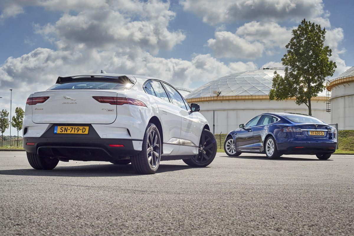 Jaguar i-Pace Model S elektrisch rijden