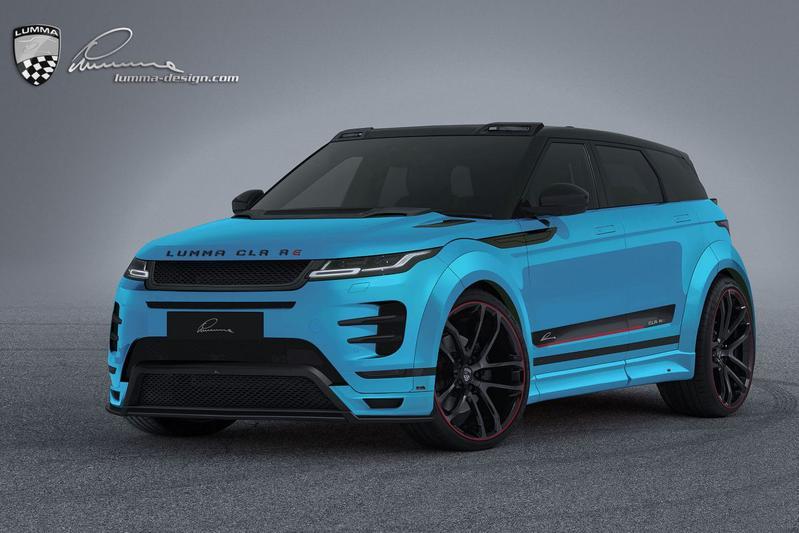 Range Rover Evoque Lumma CLR RE