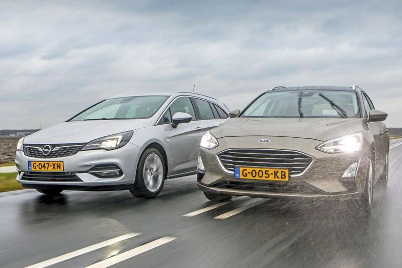 Opel Astra Sports Tourer - Ford Focus Wagon - Dubbeltest