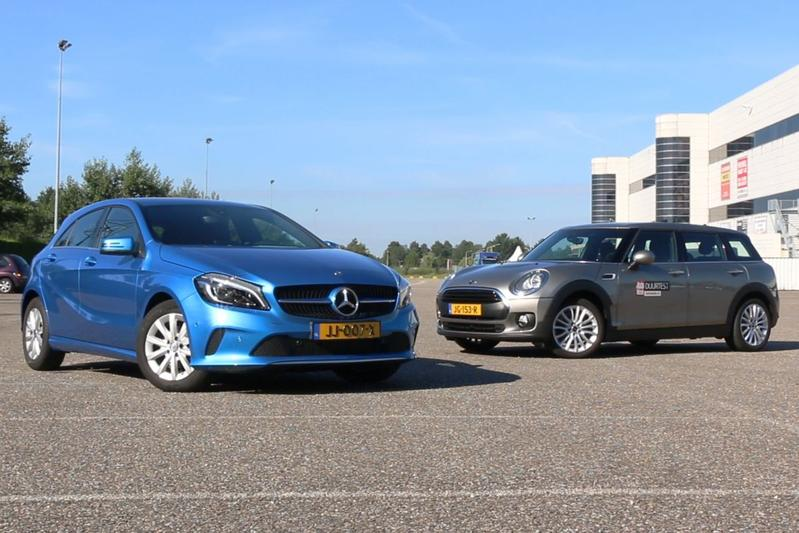Mini Clubman vs. Mercedes A-klasse - Dubbeltest