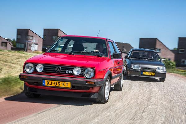 Golf II GTI vs Kadett GSi