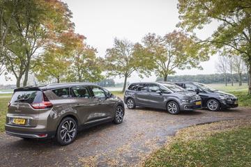 BMW 2-serie Gran Tourer | Citroën Grand C4 Picasso | Renault Grand Scenic