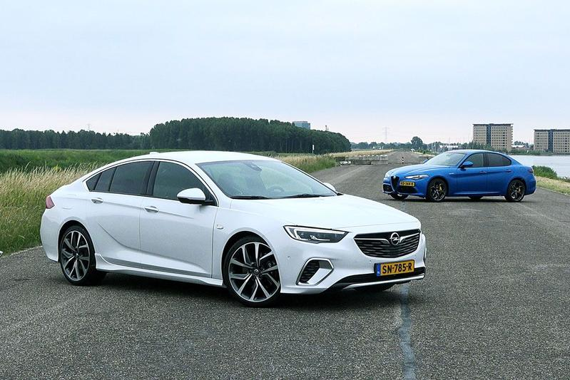 Opel Insignia GSi vs. Alfa Romeo Giulia Veloce - Dubbeltest
