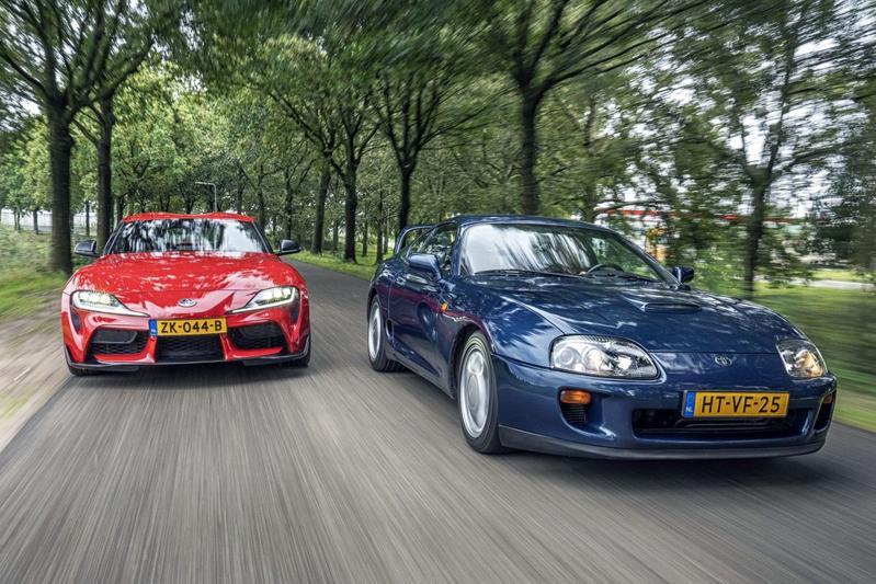 Toyota Supra - Oud & Nieuw