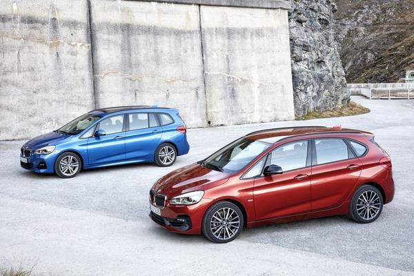 BMW 2-serie Active Tourer en Grand Tourer facelift