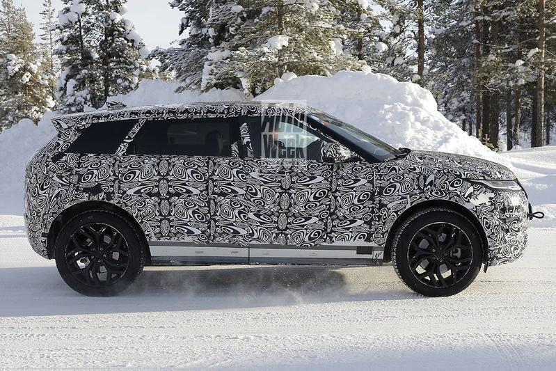 Spyshots Land Rover Range Rover Evoque LWB