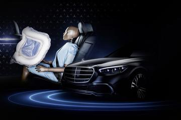 Nieuwe Mercedes-Benz S-klasse krijgt bijzondere airbags