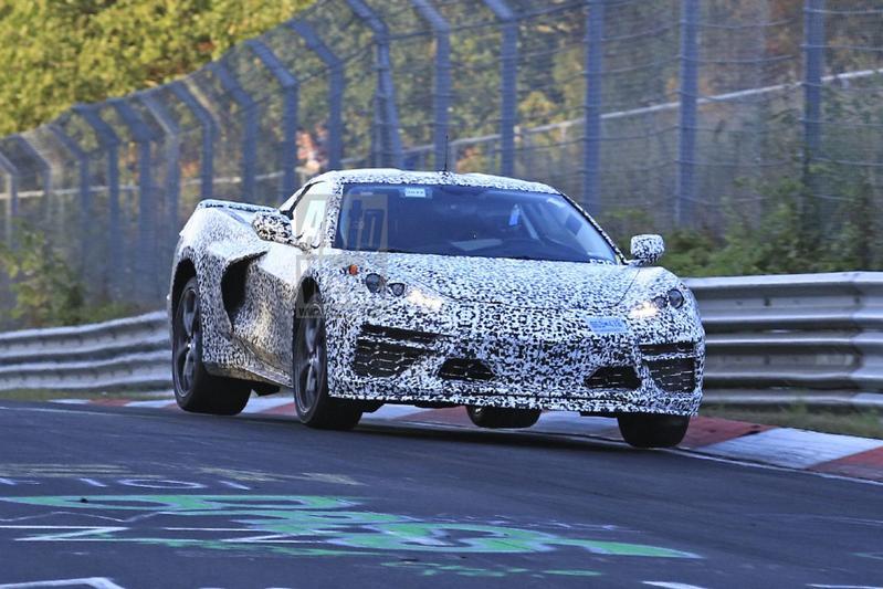 Chevrolet Corvette maakt vlieguren op de Ring