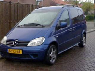 Mercedes-Benz Vaneo CDI 1.7 Trend (2003)